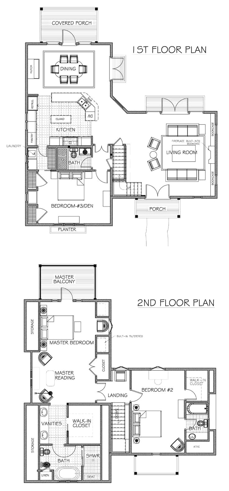 free cabin designs and floor plans