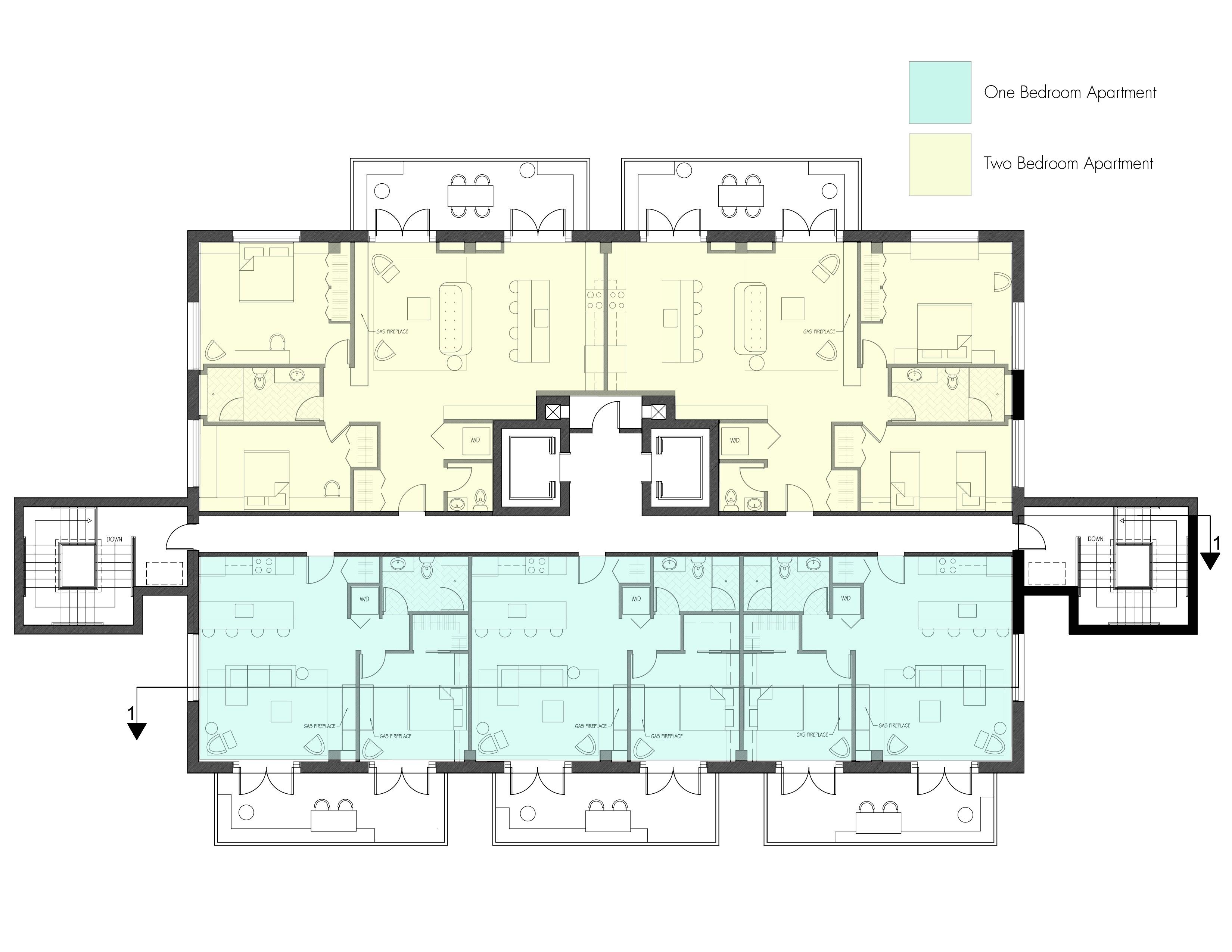 modern cabin floor plans