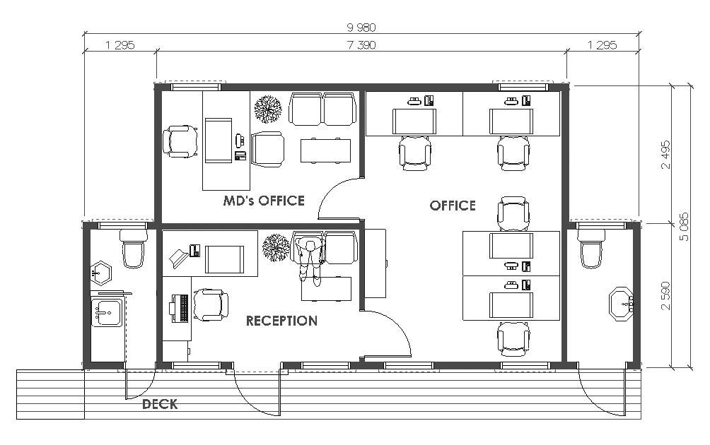 modern home office floor plans comfortable ideas