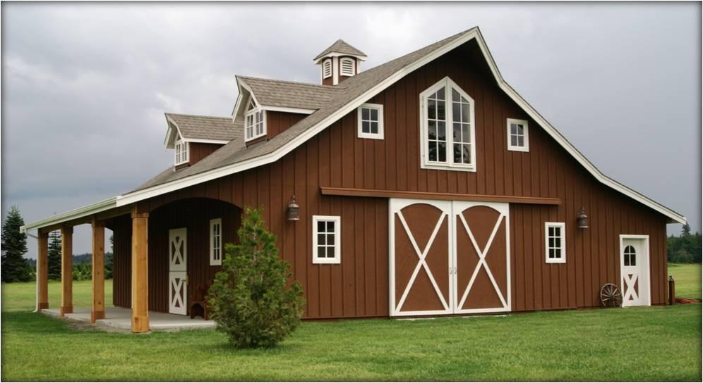 barn style house kits classic