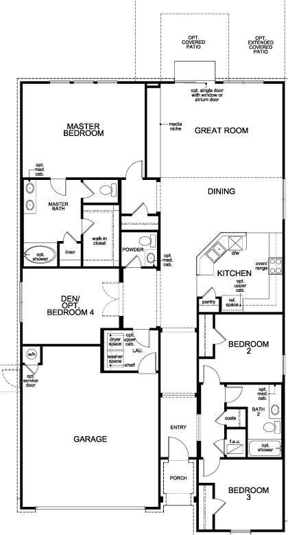 2004 kb homes floor plans
