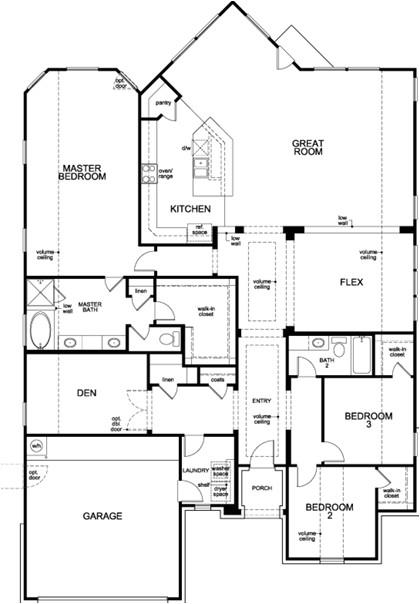 kb homes floor plans