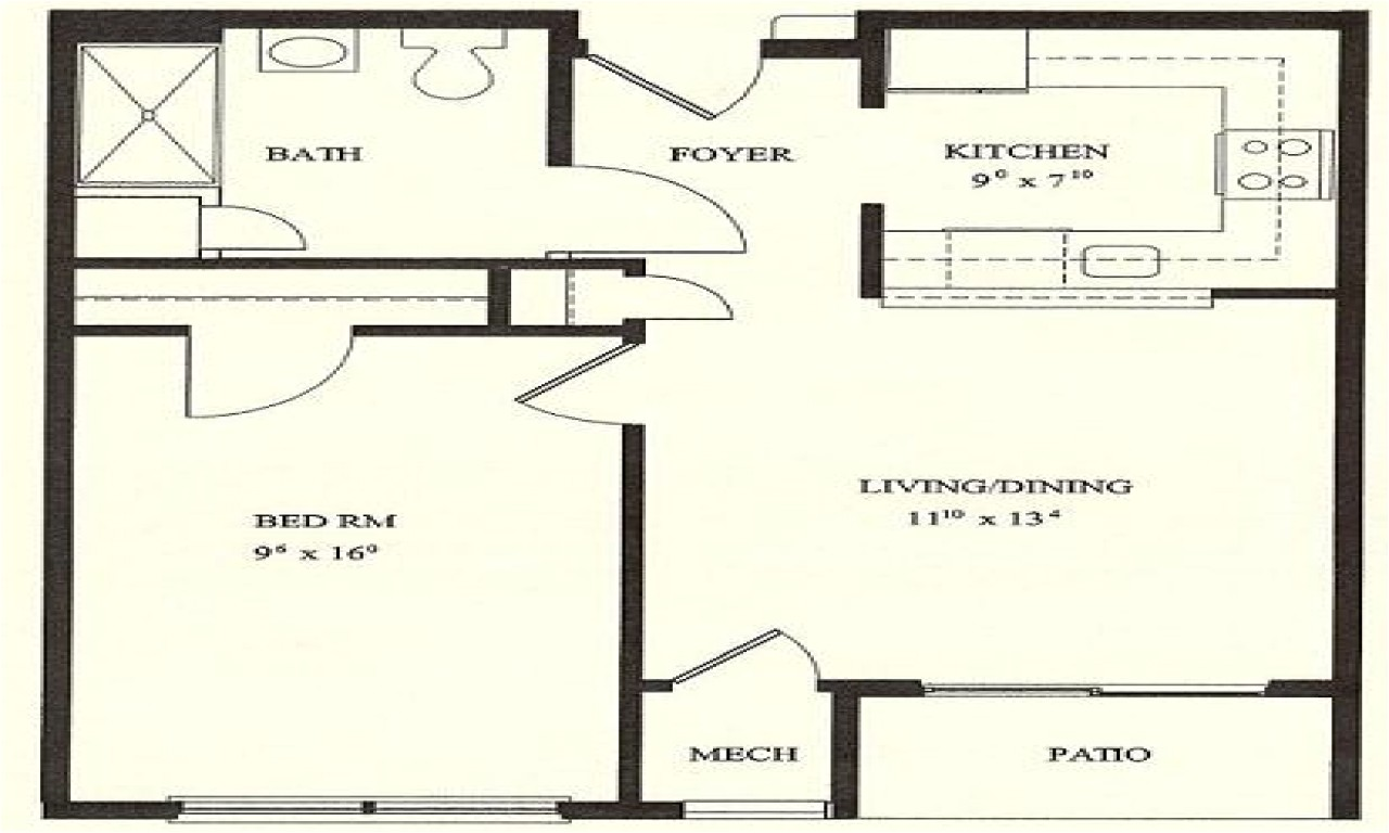 07b1b4dd8c3e3480 1 bedroom house plans 1 bedroom floor plans