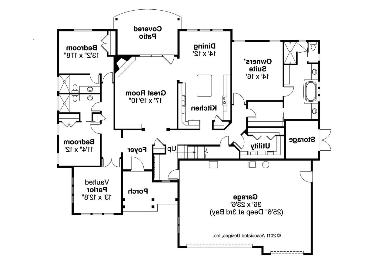 24 amazing one floor cottage house plans