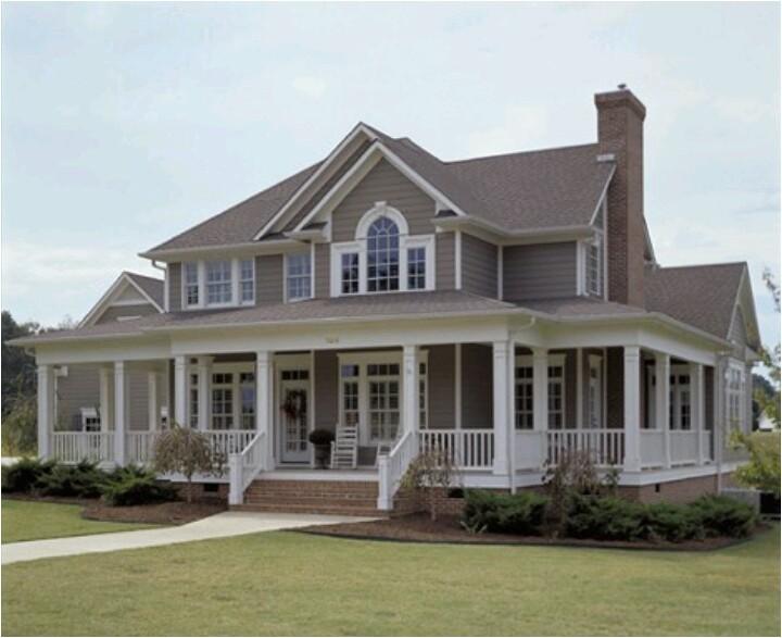 One Level House Plans With Wrap Around Porch Wrap Around Porch Dream