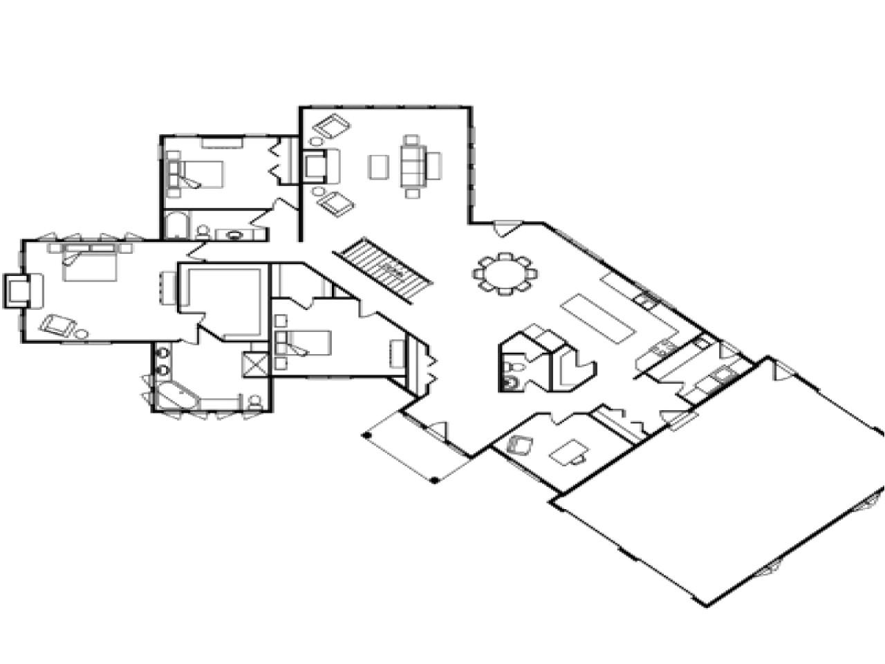 5ddfc90ef1527918 single level log homes single story log home floor plans