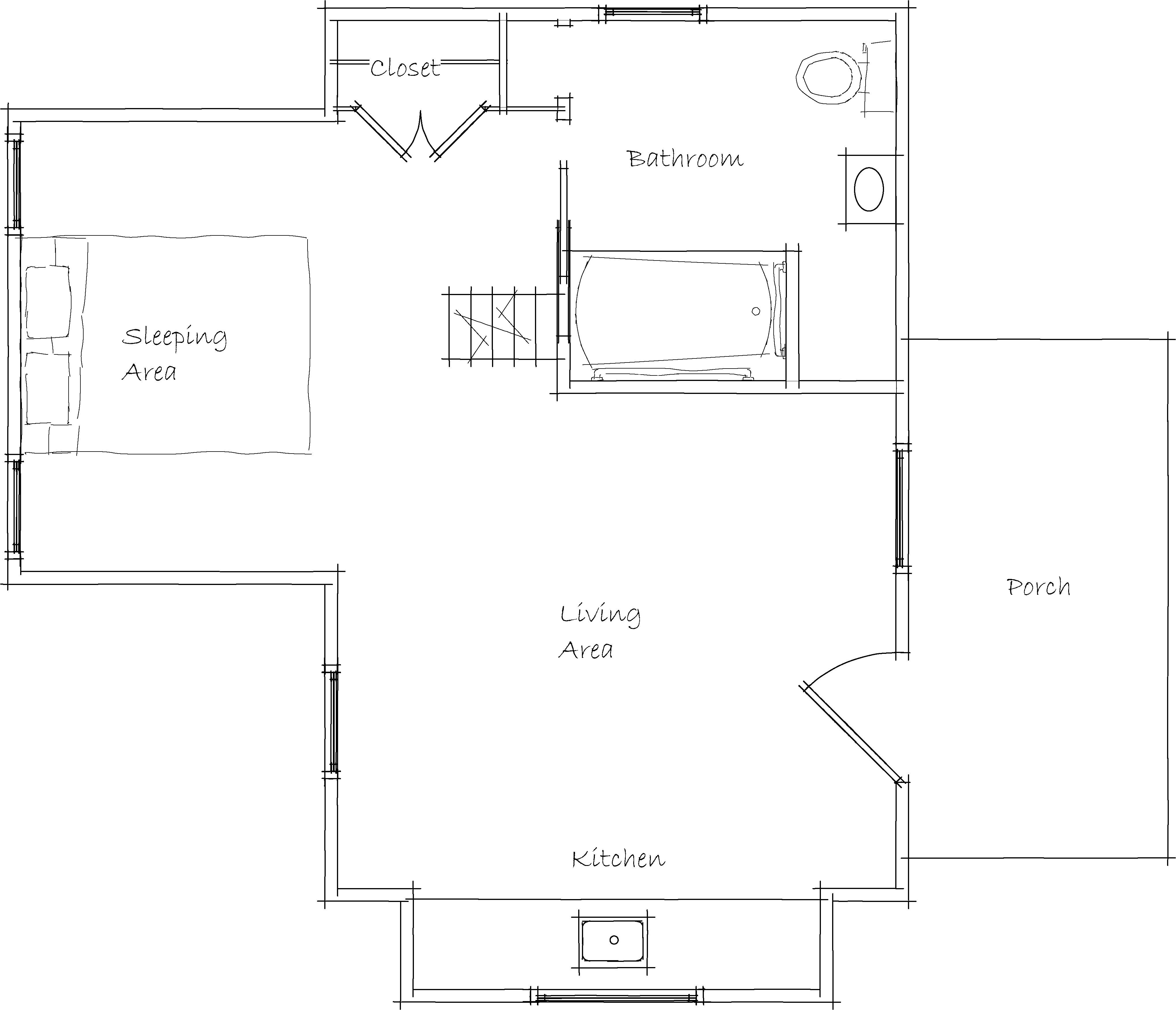 house plans handicap accessible
