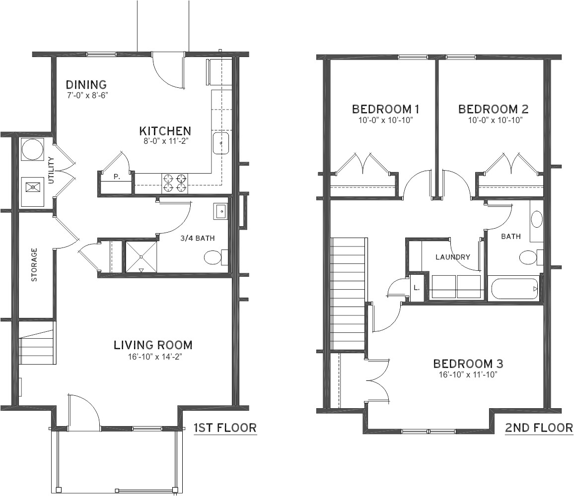 one story handicap accessible house plans