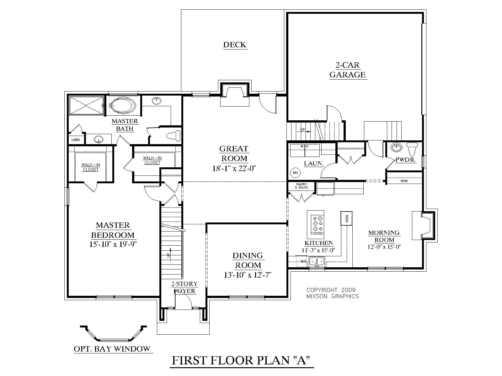 single story house plans with bonus room