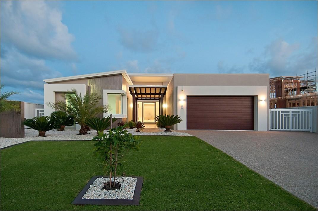 One Story Modern Home Plans Modern Single Storey House Designs