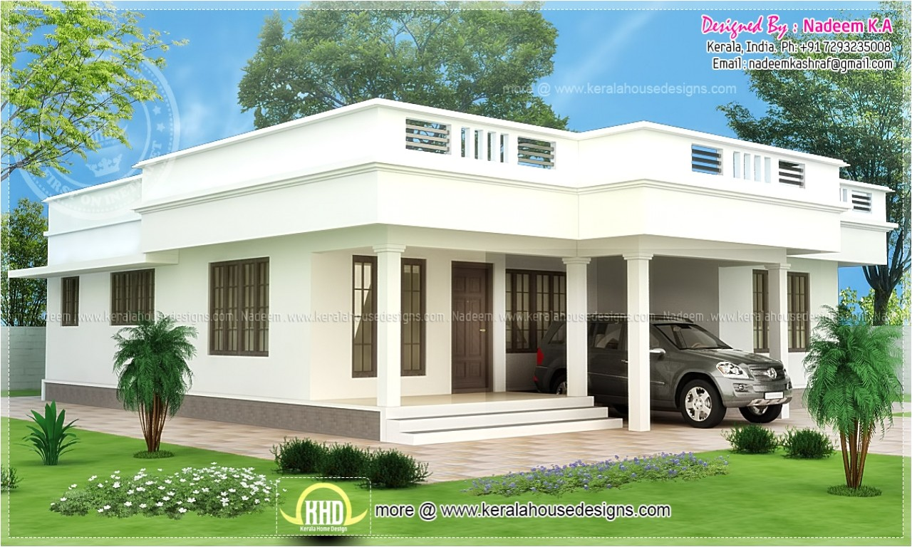 434a8458ff4f13be shed roof single story flat roof house designs