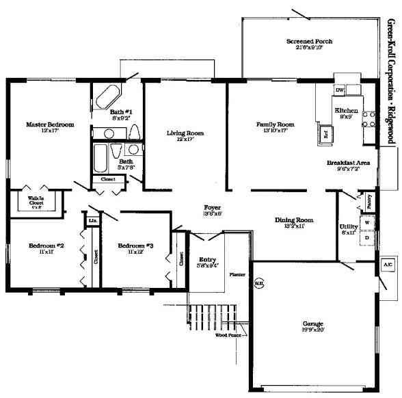 eames house floor plan dimensions