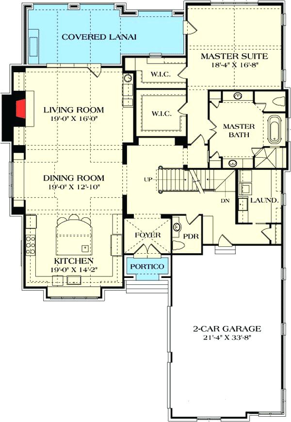 open area house plans