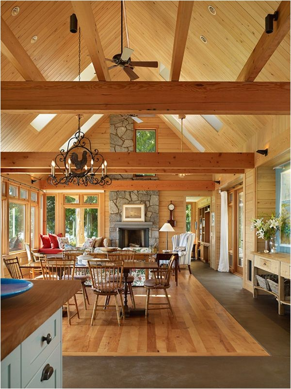 timber frame home interiors