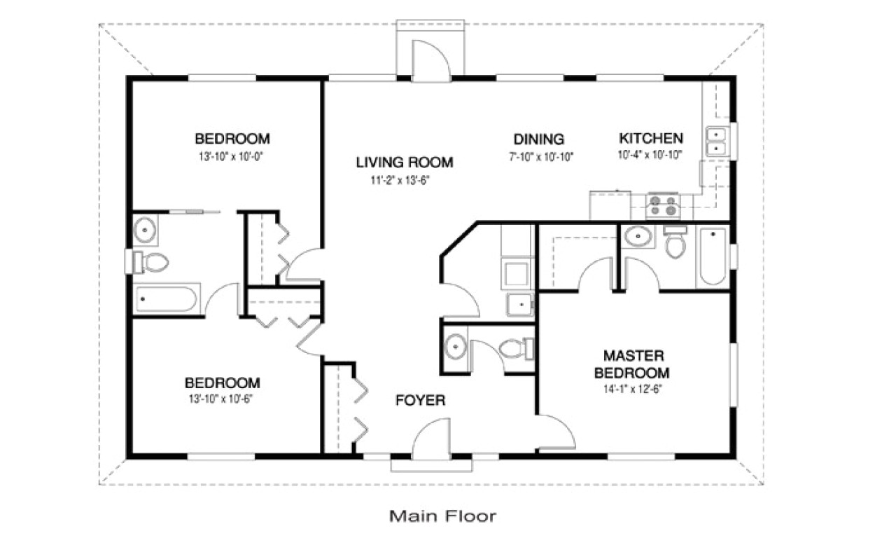 7a368dd164faf6bd small open concept kitchen living room designs small open concept house floor plans