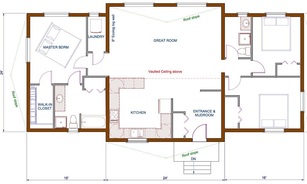 Open Concept Home Plans Open Concept Kitchen Living Room Floor Plan and Design