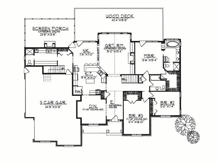 ranch home plans open concept