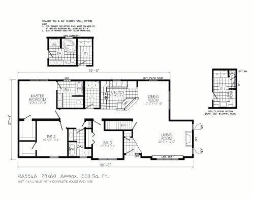 Open Concept Ranch Home Floor Plans Open Concept Ranch House Floor Plans thefloors Co
