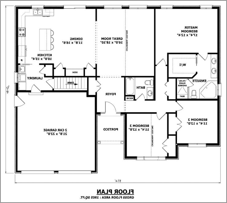 house plan no formal dining room