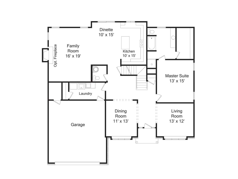 no formal dining room floor plans