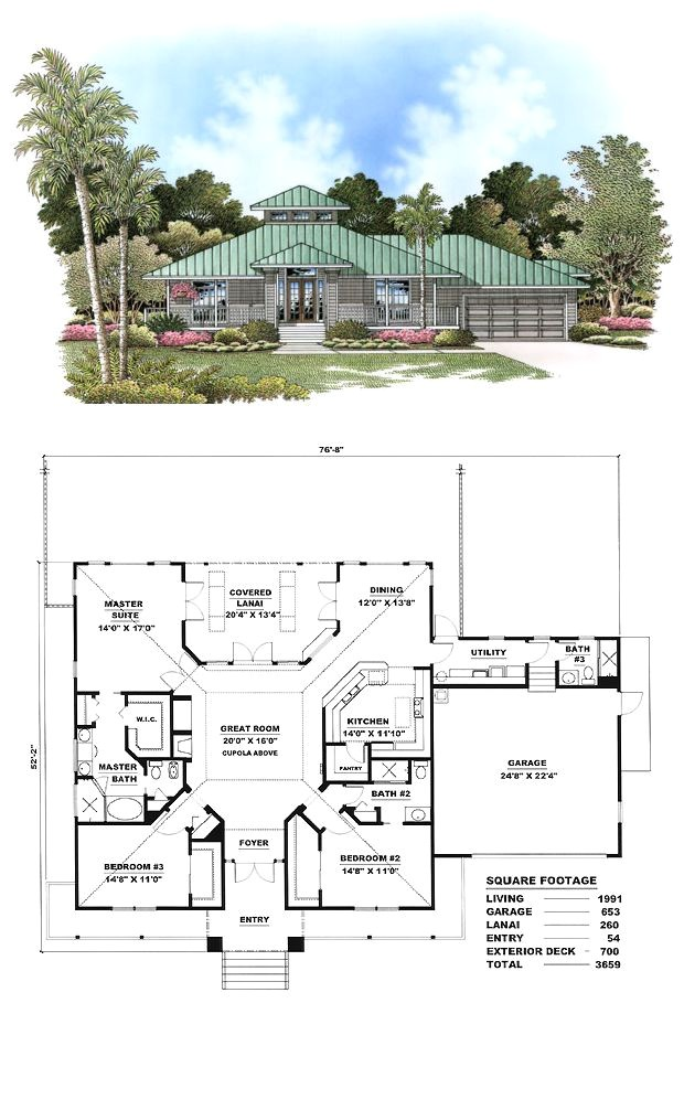 Open Floor Plan Cracker Style Home Florida Cracker Style Cool House Plan Id Chp 17425