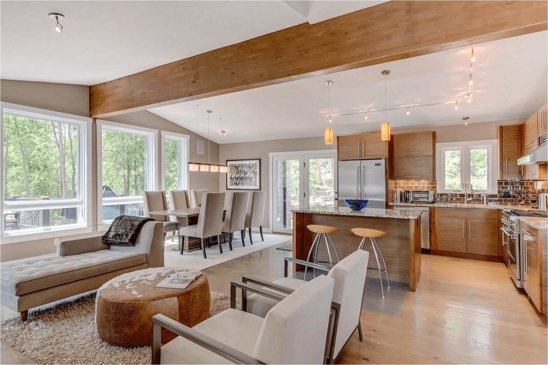 stylish open floor plan for home design ideas with open concept floor plans