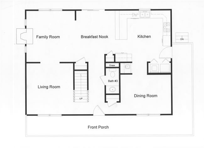 2 story colonial floor plans