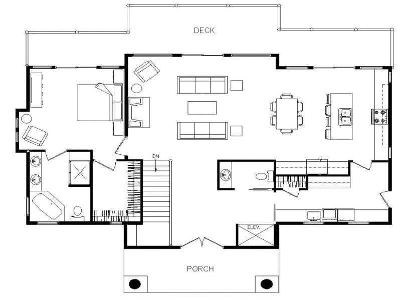 ranch home plans with open floor plan