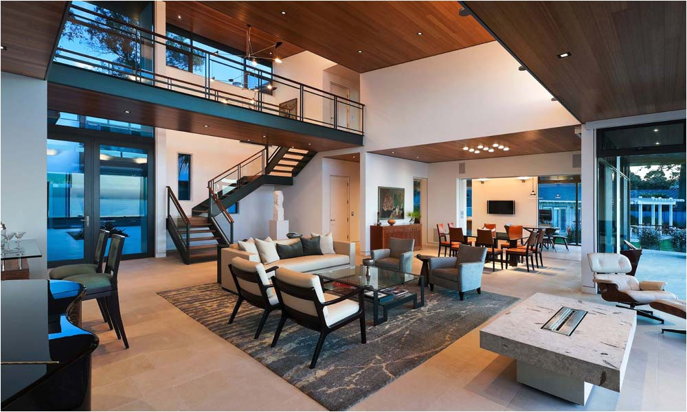 Open Plan Homes Modern Living Room Open Plan House Interior Design Ideas