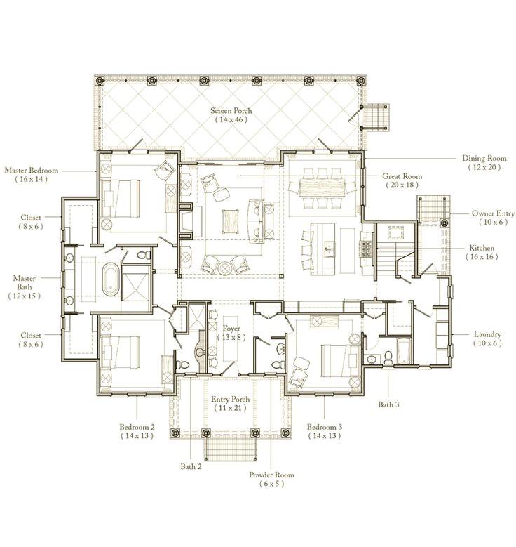 Palmetto Bluff House Plans Palmetto Bluff Floor Plan Love This Pinterest Master