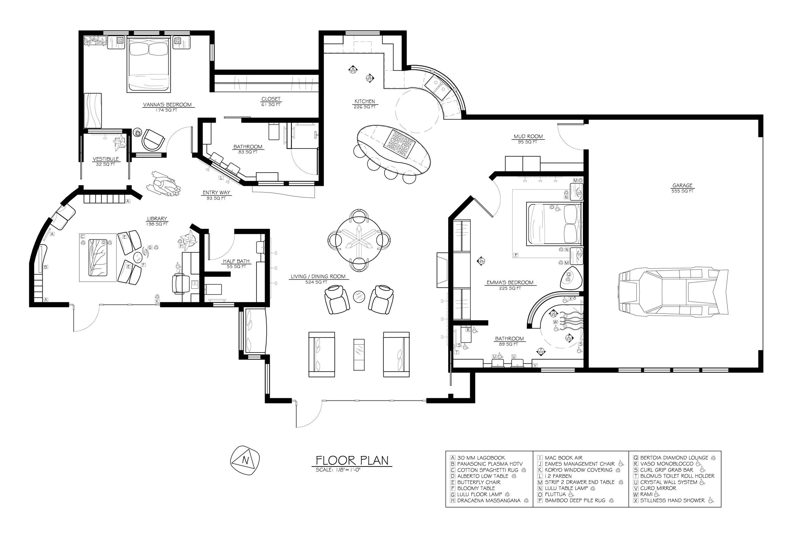 solar home floor plans