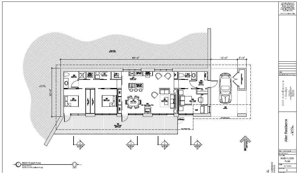 passive solar small house plans