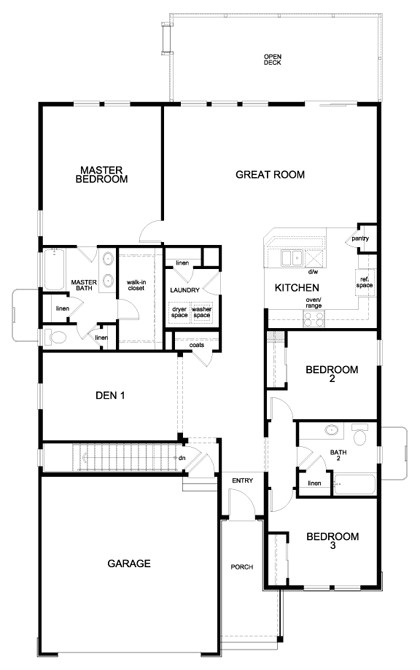 floor plans for patio home