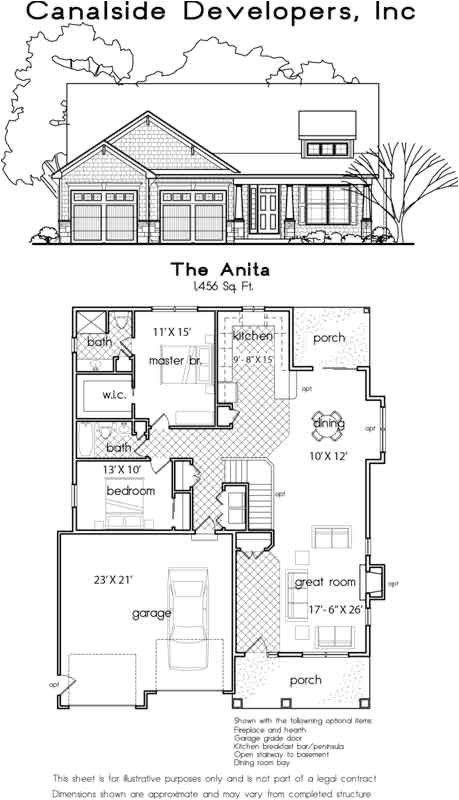 patio homes house plans