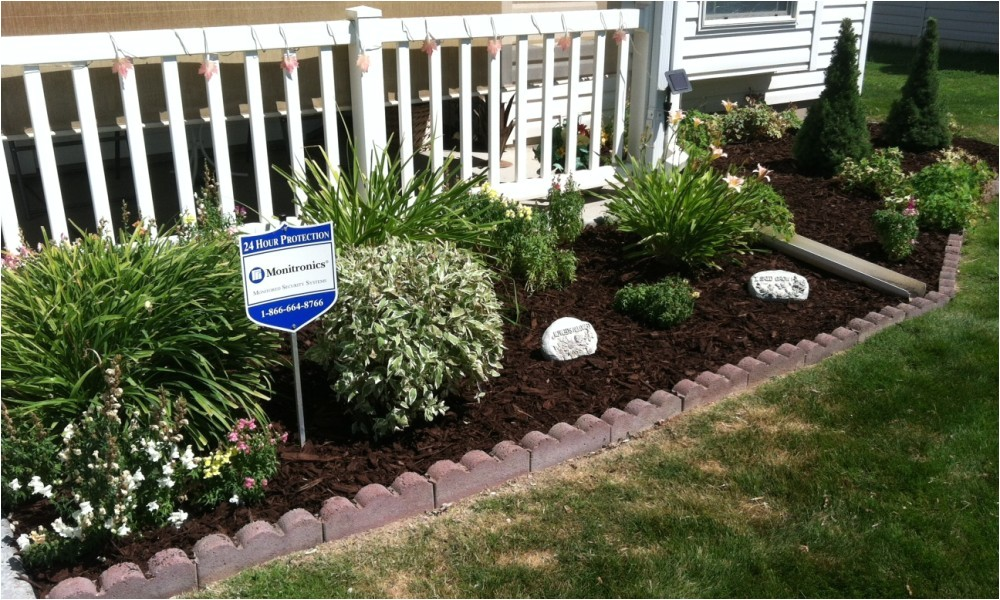 Perennial Flower Bed Plans for Front Of House Flower Garden Ideas for Front Of House Landscaping