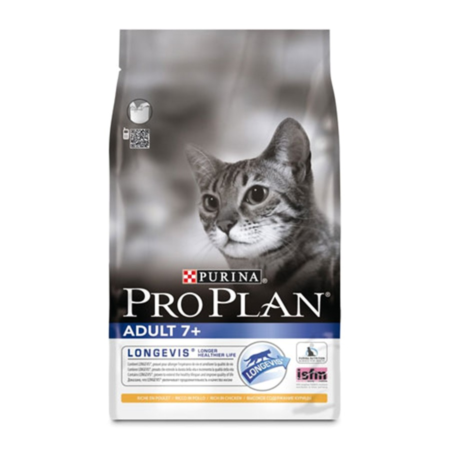 pro plan adult complete 7 cat food with chicken 3kg
