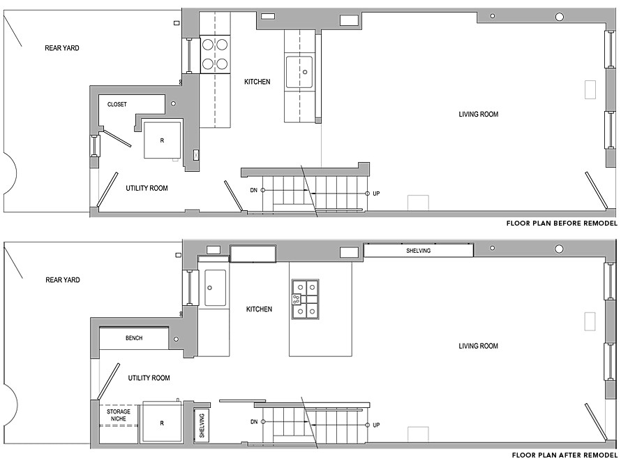 Philadelphia Row Home Floor Plan Philadelphia Row House Floor Plan
