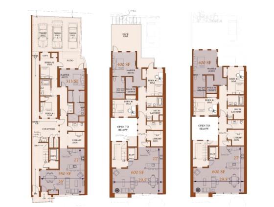 Philadelphia Row Home Floor Plan Row Home Floor Plan Luxury Row House 1 2nd Floor Layout