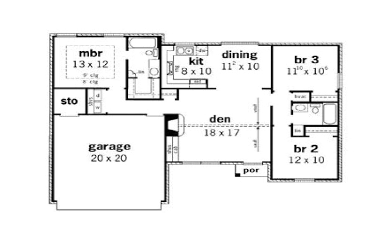 Philippine House Designs and Floor Plans for Small Houses Simple Small House Floor Plans 3 Bedroom Simple Small