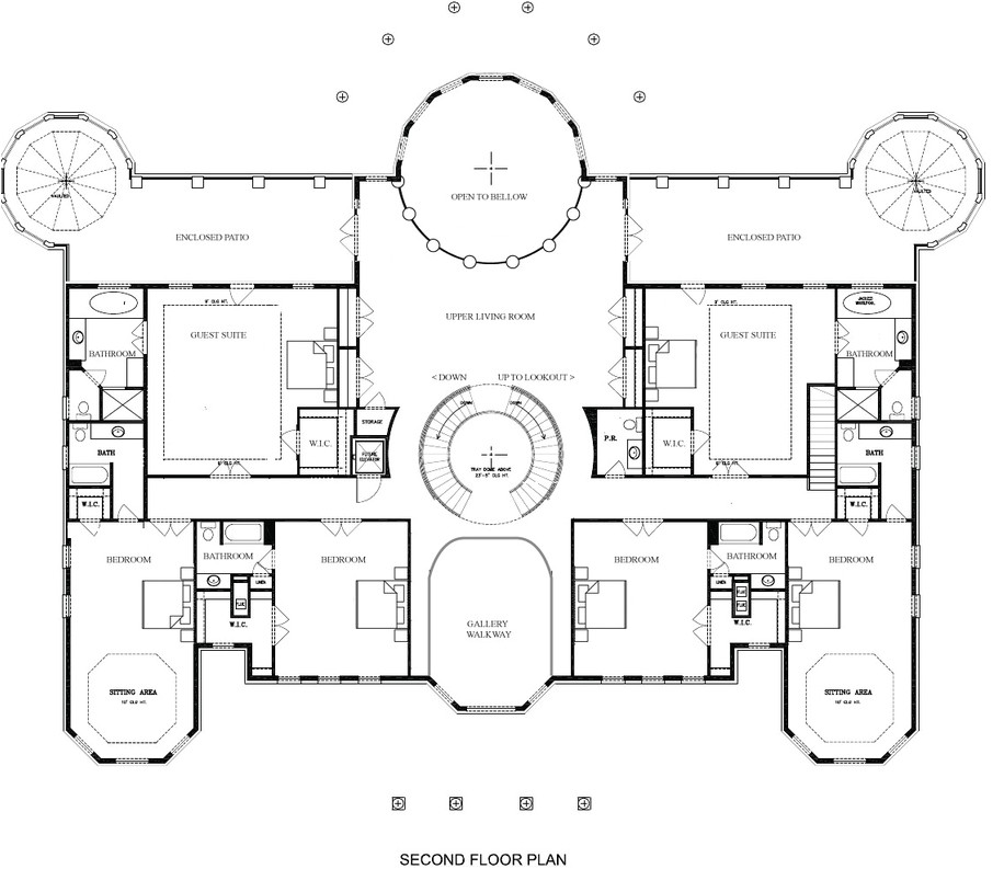 mansion floor plans pictures