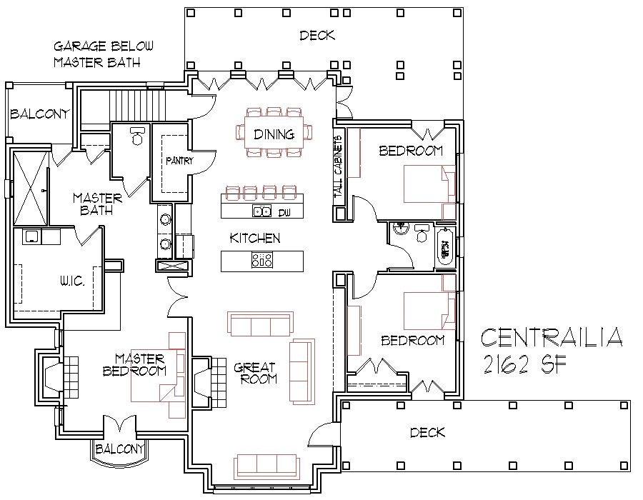 open floorplans large house