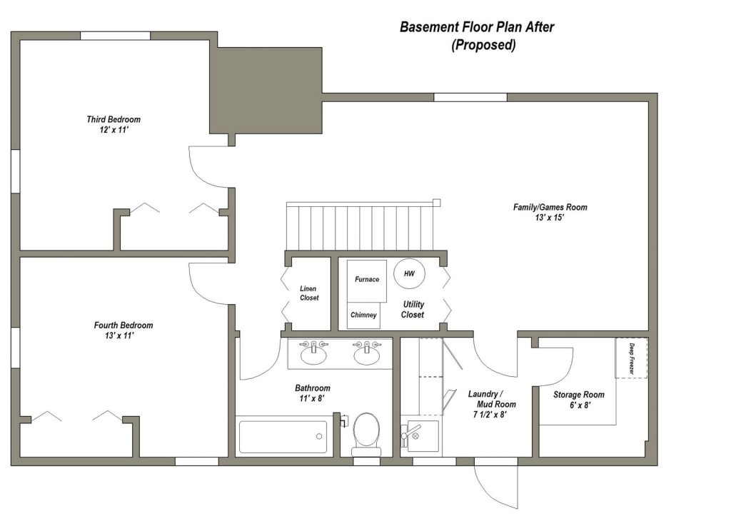 house plans with bedrooms in basement unique best 25 basement floor plans ideas on pinterest