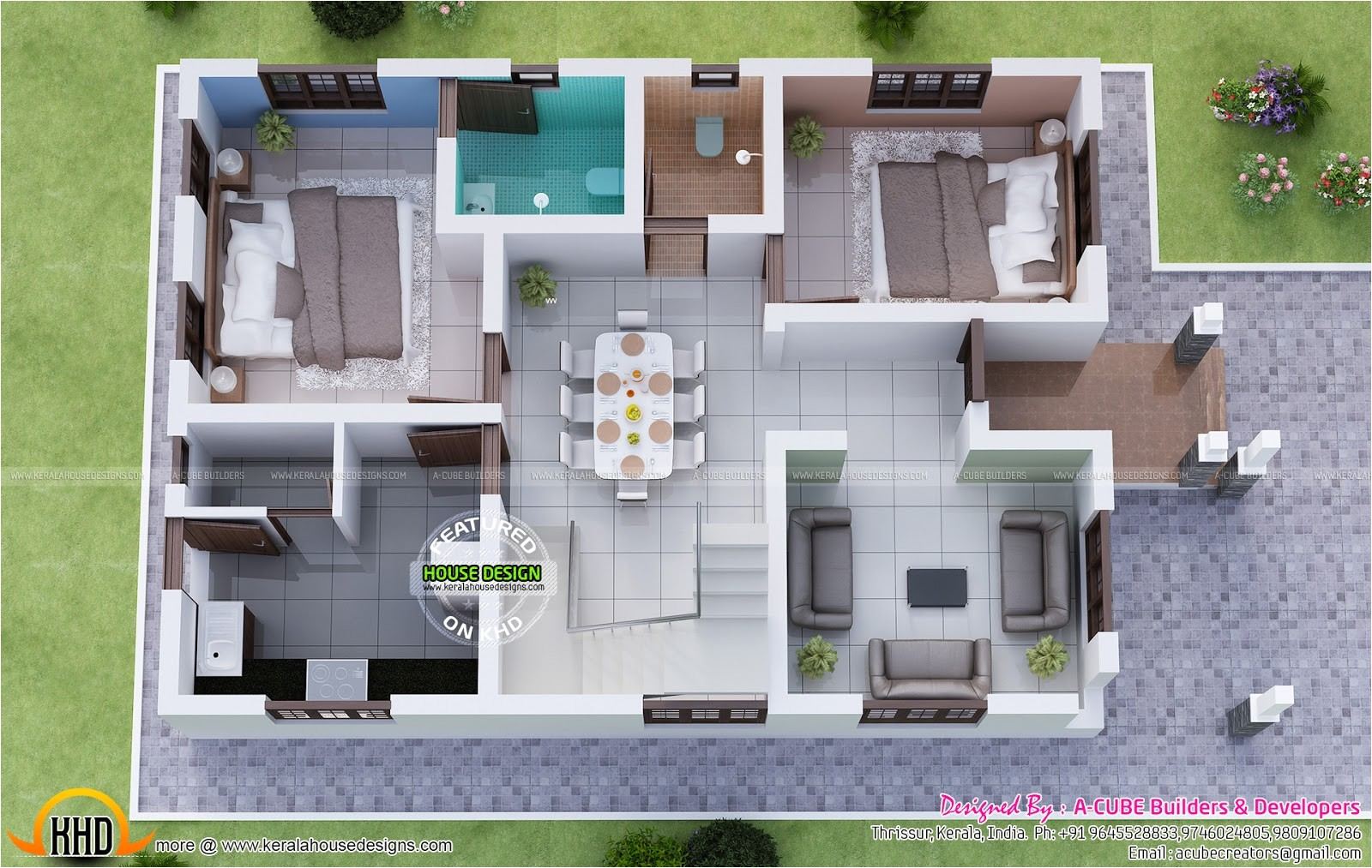 magnificent kerala dream home