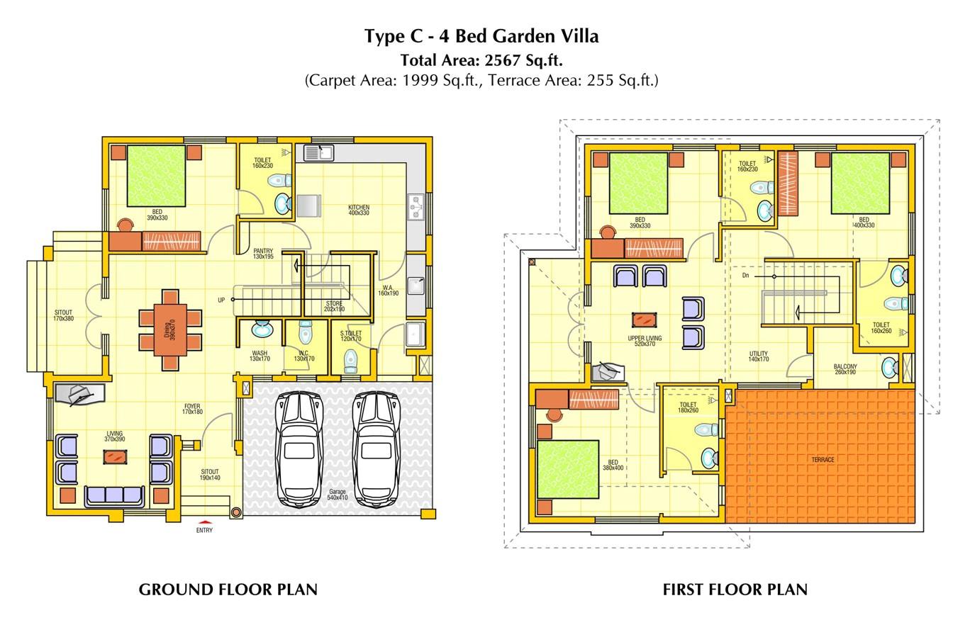 ground floor plan house design