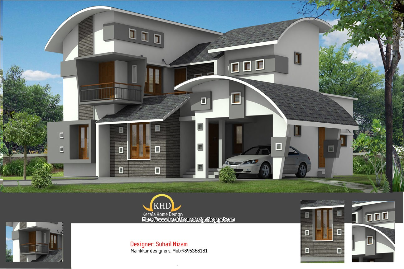 house plan and elevation 2377 sq ft