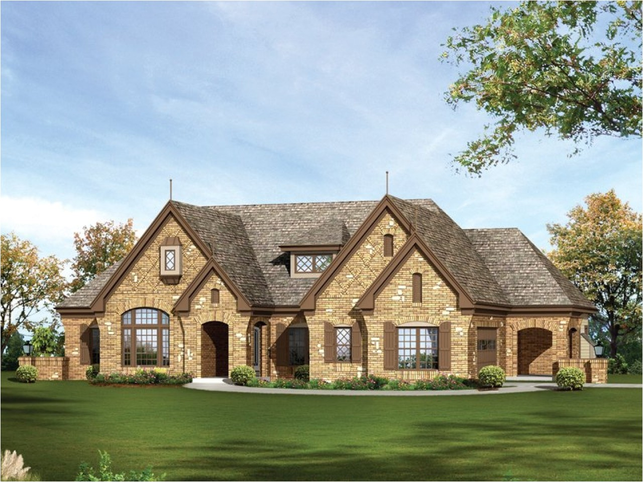 187b578c86932eba one story country house stone one story house plans for ranch style homes