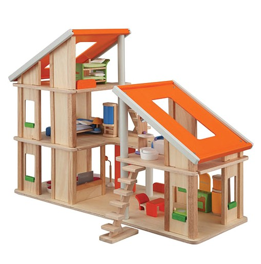 mid century modern doll houses
