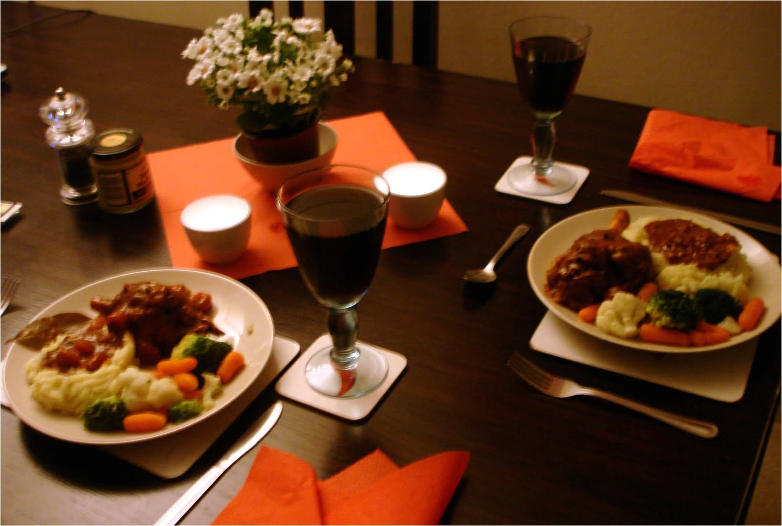Planning A Romantic Dinner at Home Creative Cooking with Muriel Lamb Shanks In Red Wine