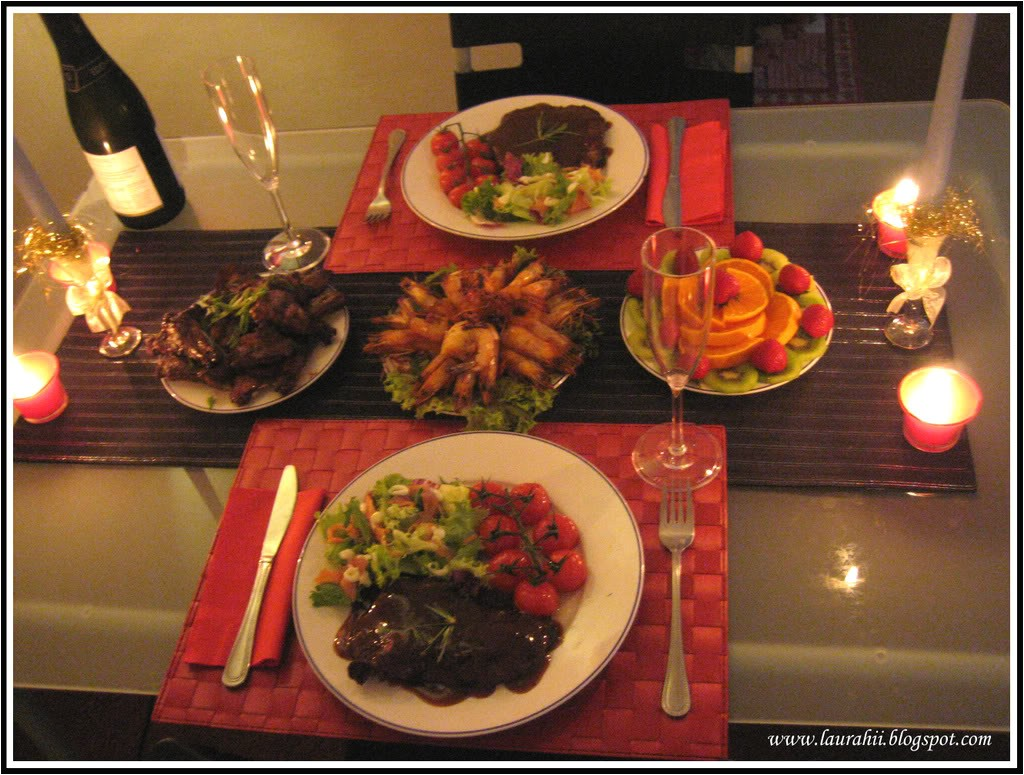 plan a romantic night at home