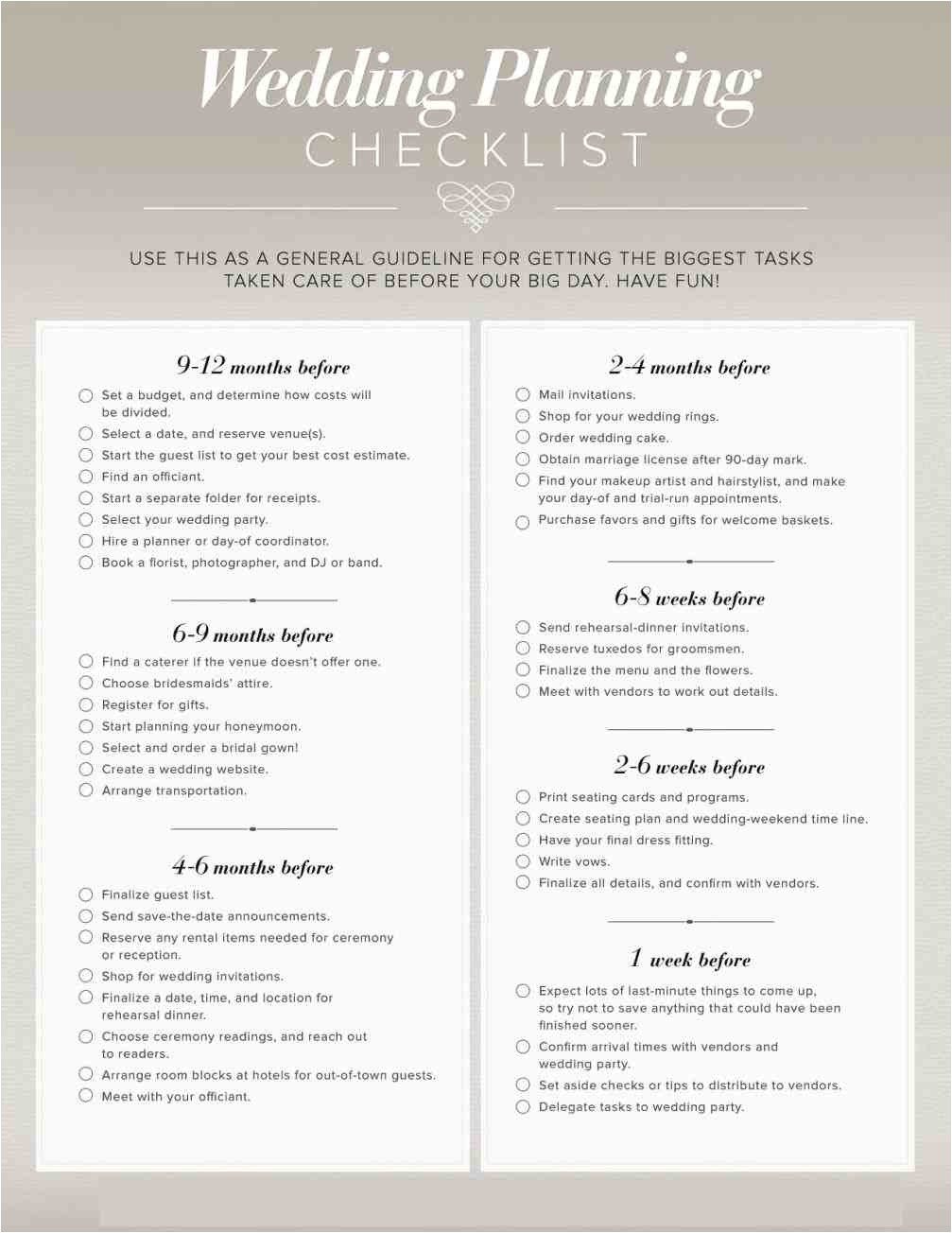 planning a wedding reception at home wedding planning checklist pdf